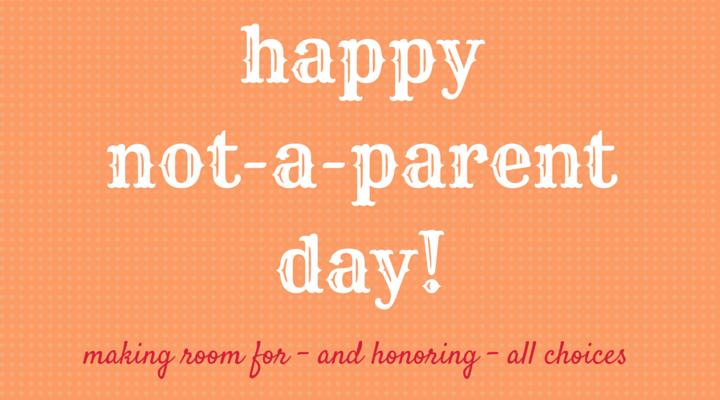 Je ne suis pas un parent, mais…